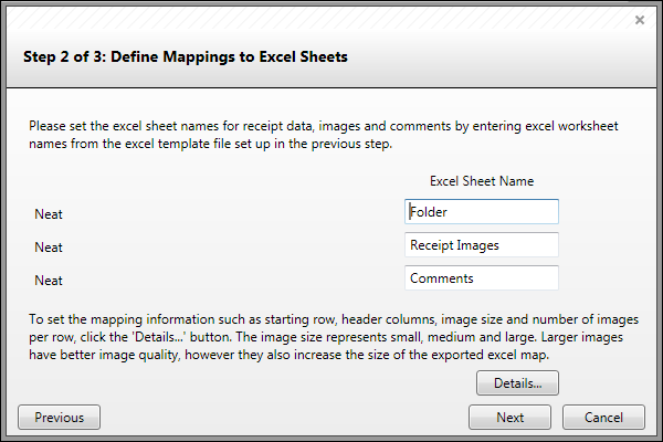 Creating a New Excel Map The Neat Company – Creating Worksheets